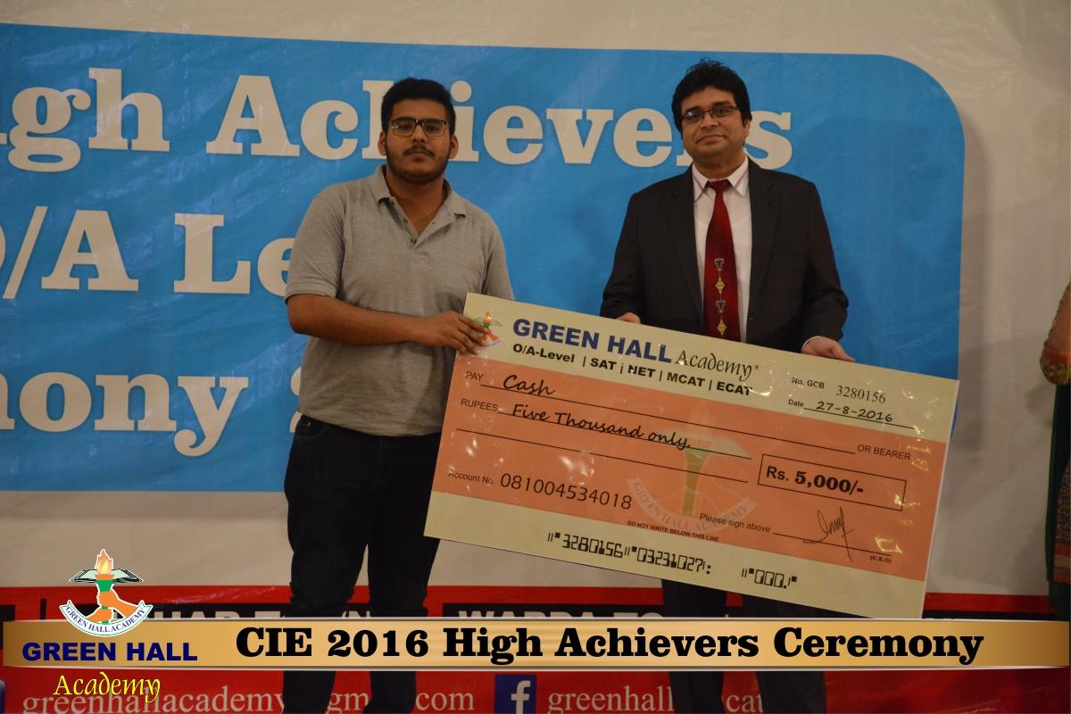 CAIE High Achievers 2016 GreenHall Academy 191