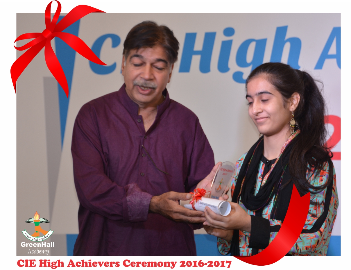 CAIE High Achievers 2017 GreenHall Academy 31