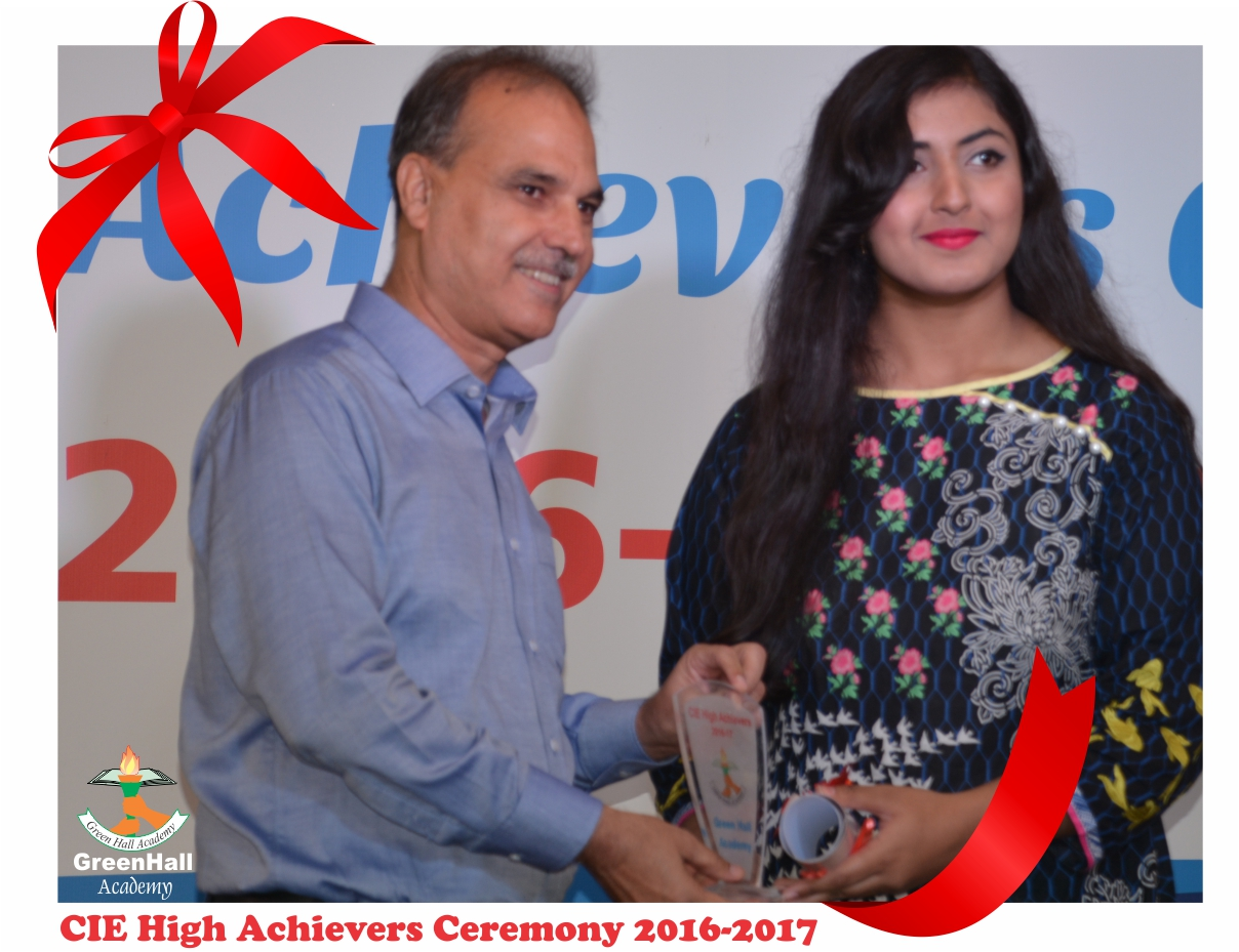 CAIE High Achievers 2017 GreenHall Academy 46