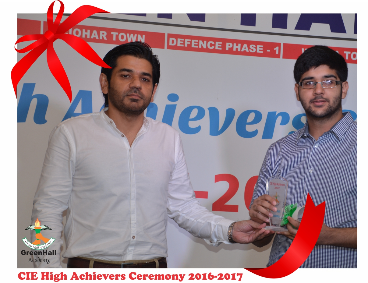 CAIE High Achievers 2017 GreenHall Academy 53