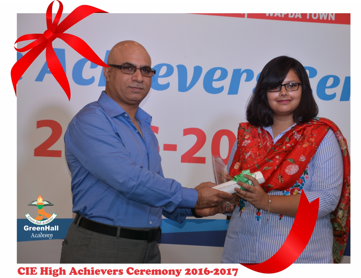 CAIE High Achievers 2017 GreenHall Academy 55