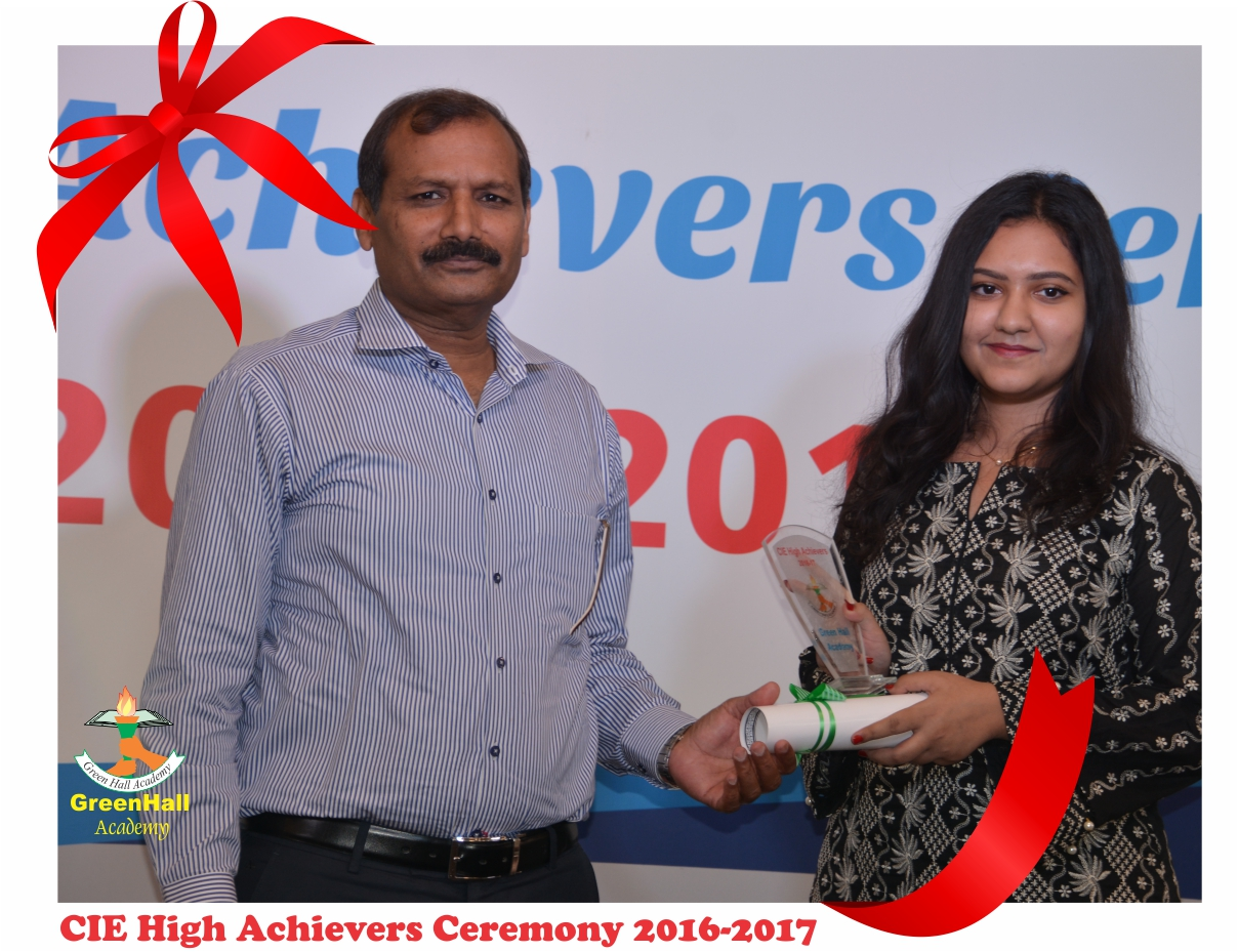 CAIE High Achievers 2017 GreenHall Academy 59