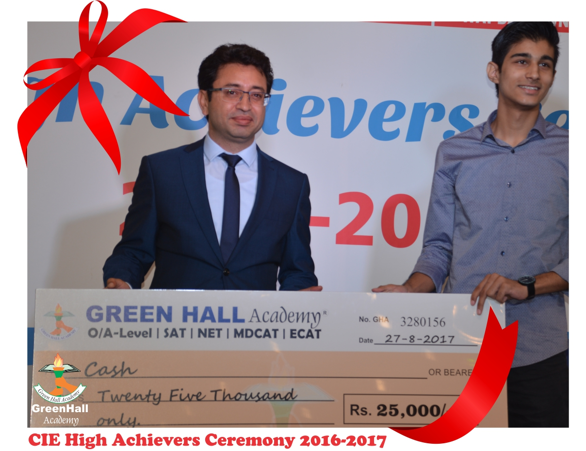 CAIE High Achievers 2017 GreenHall Academy 6
