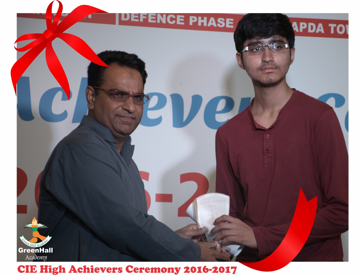 CAIE High Achievers 2017 GreenHall Academy 64