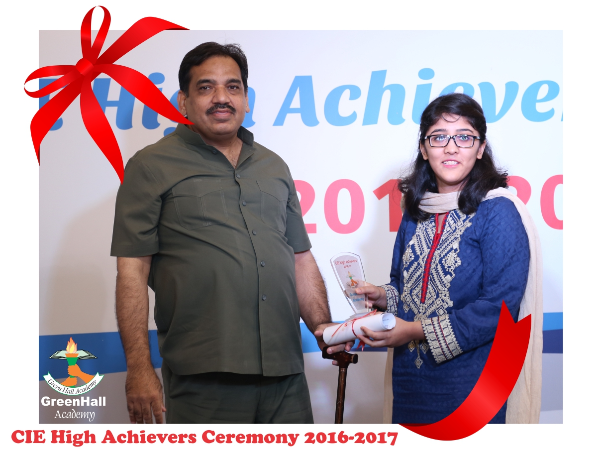 CAIE High Achievers 2017 GreenHall Academy 69