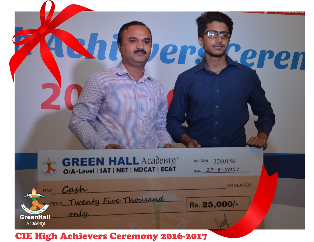 CAIE High Achievers 2017 GreenHall Academy 7