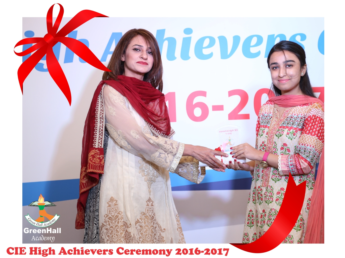 CAIE High Achievers 2017 GreenHall Academy 71