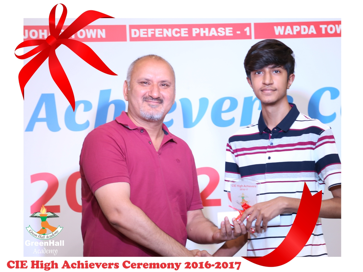 CAIE High Achievers 2017 GreenHall Academy 74