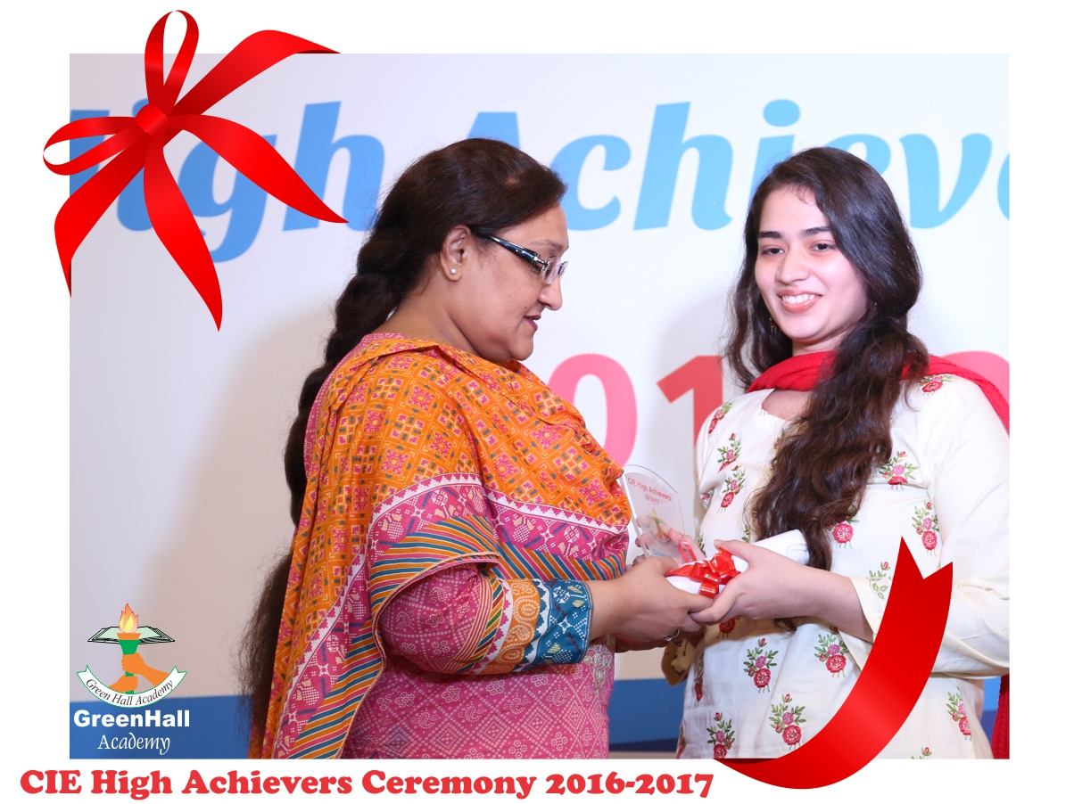 CAIE High Achievers 2017 GreenHall Academy 79