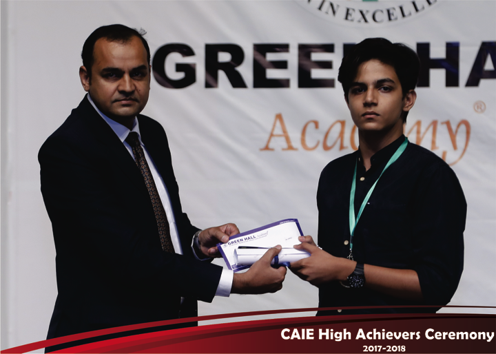 CAIE High Achievers 2018 GreenHall Academy 14
