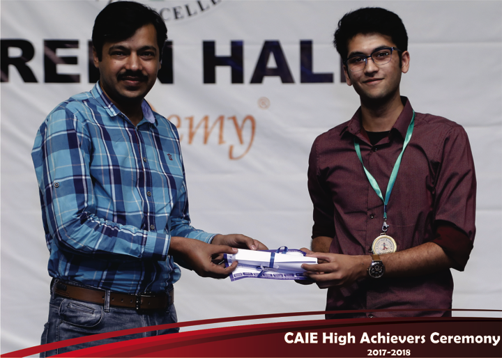 CAIE High Achievers 2018 GreenHall Academy 15