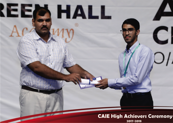 CAIE High Achievers 2018 GreenHall Academy 21