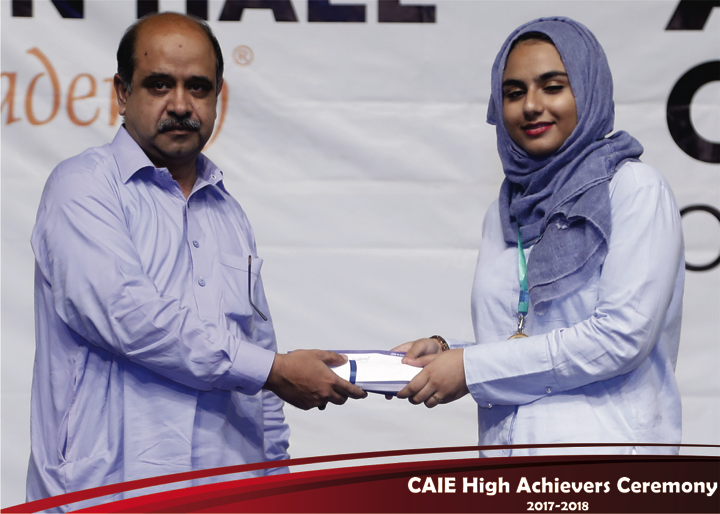 CAIE High Achievers 2018 GreenHall Academy 25