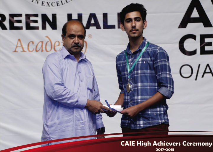 CAIE High Achievers 2018 GreenHall Academy 27