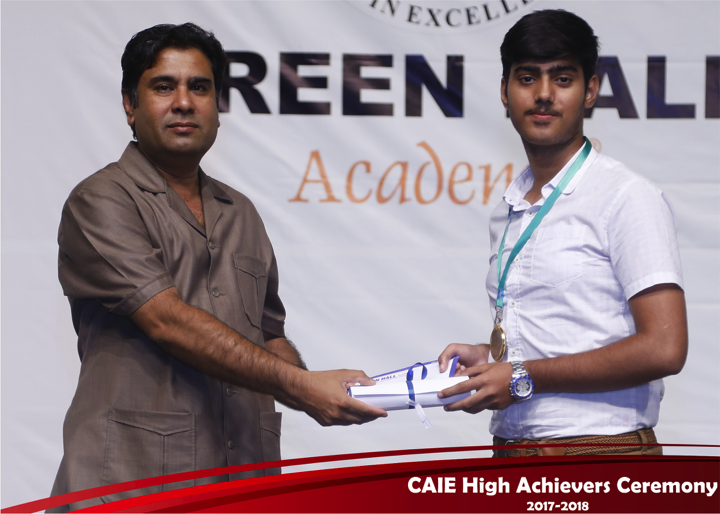 CAIE High Achievers 2018 GreenHall Academy 32