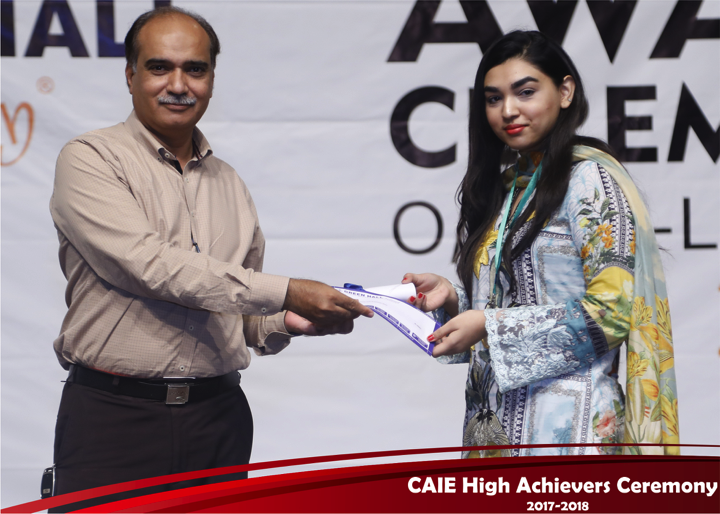 CAIE High Achievers 2018 GreenHall Academy 36