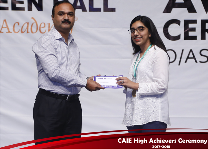 CAIE High Achievers 2018 GreenHall Academy 39