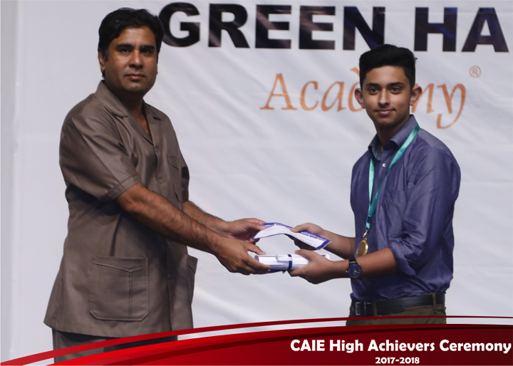 CAIE High Achievers 2018 GreenHall Academy 41