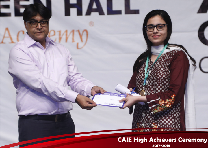 CAIE High Achievers 2018 GreenHall Academy 42