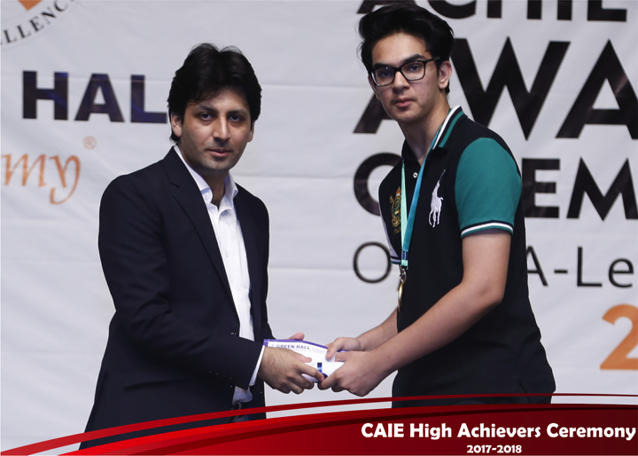 CAIE High Achievers 2018 GreenHall Academy 45