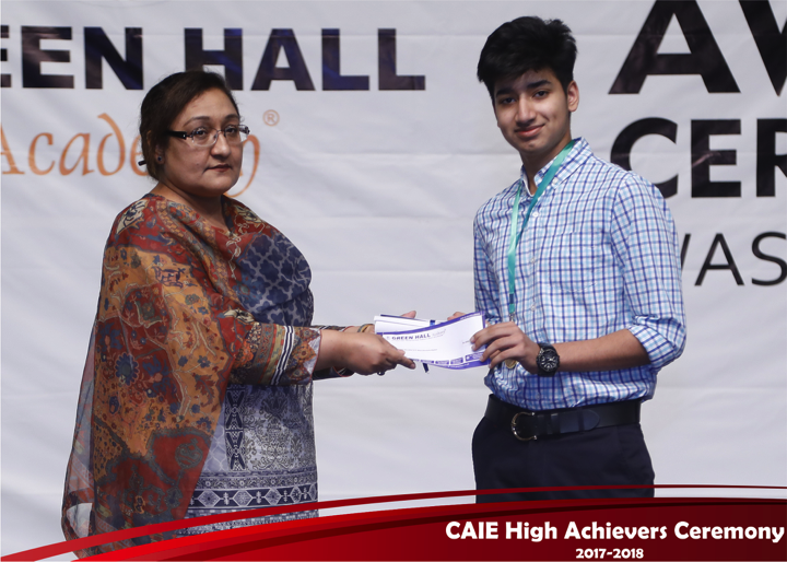 CAIE High Achievers 2018 GreenHall Academy 46