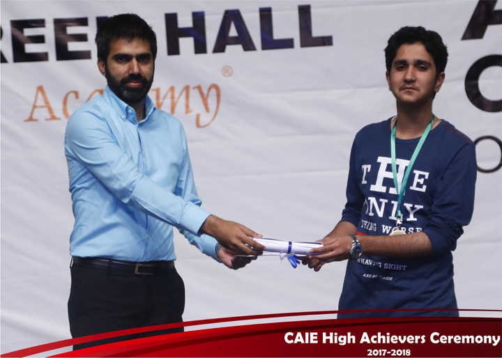 CAIE High Achievers 2018 GreenHall Academy 47