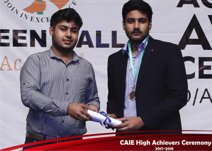 CAIE High Achievers 2018 GreenHall Academy 51