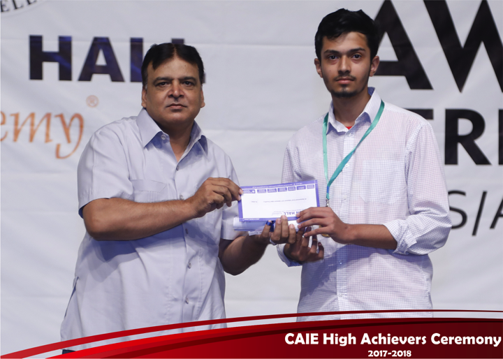 CAIE High Achievers 2018 GreenHall Academy 52