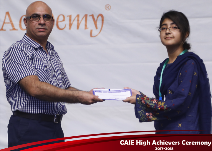 CAIE High Achievers 2018 GreenHall Academy 56