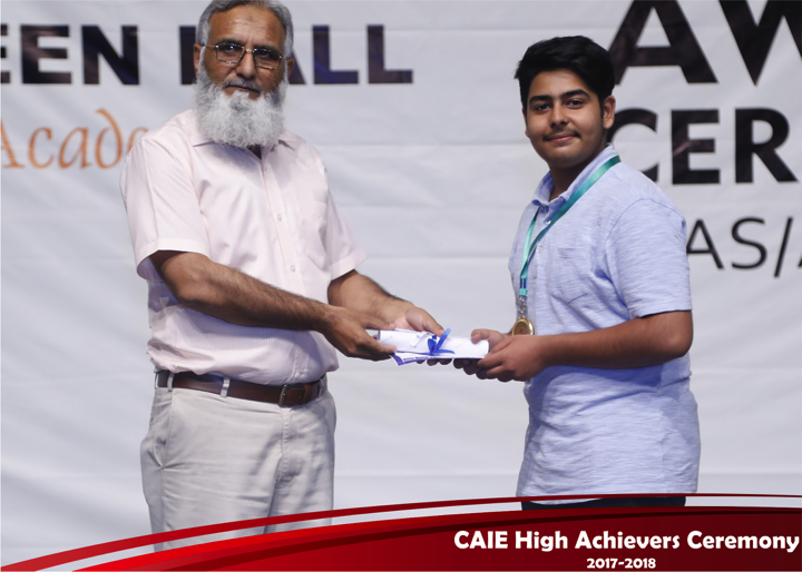 CAIE High Achievers 2018 GreenHall Academy 57