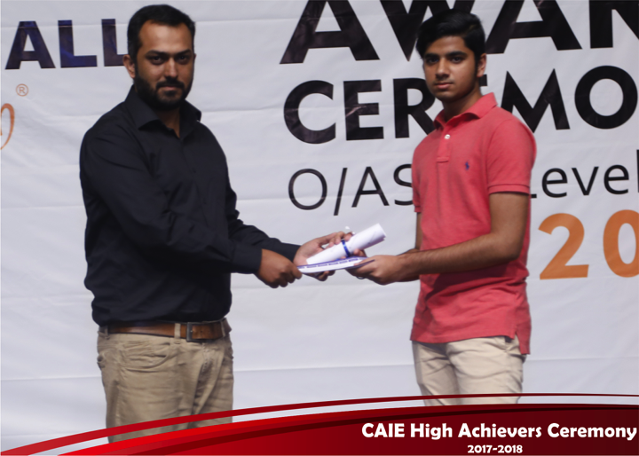 CAIE High Achievers 2018 GreenHall Academy 59