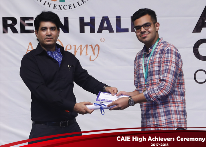 CAIE High Achievers 2018 GreenHall Academy 65