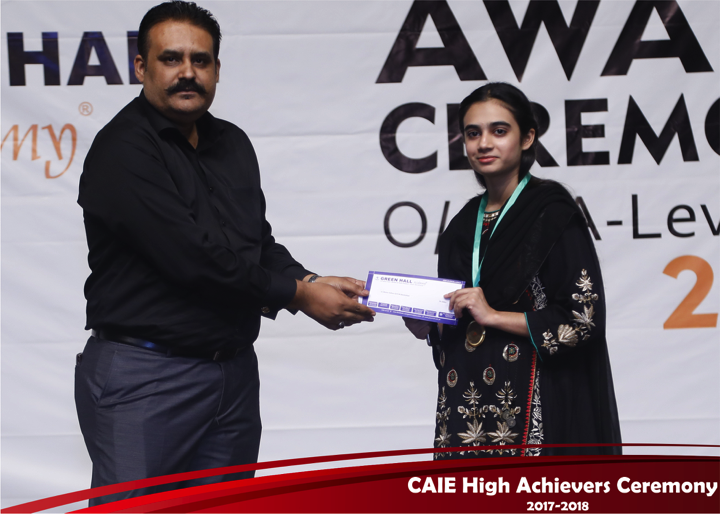 CAIE High Achievers 2018 GreenHall Academy 68