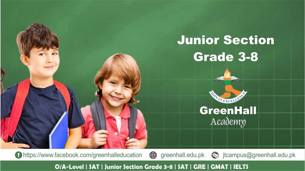 Junior Section GreenHall Academy
