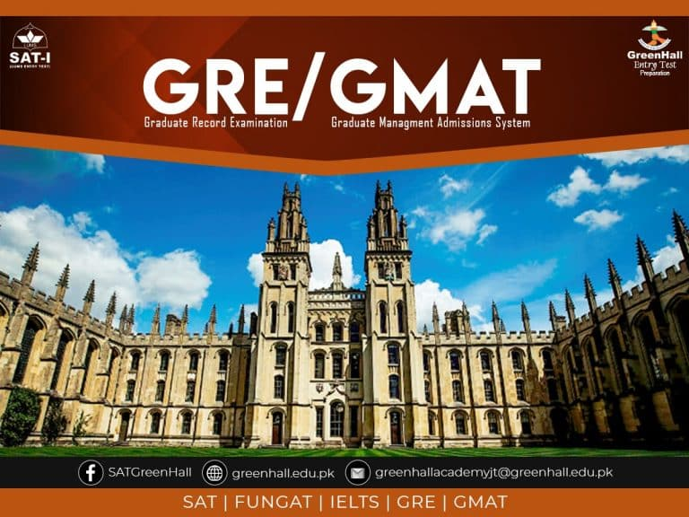GRE / GMAT GreenHall Academy