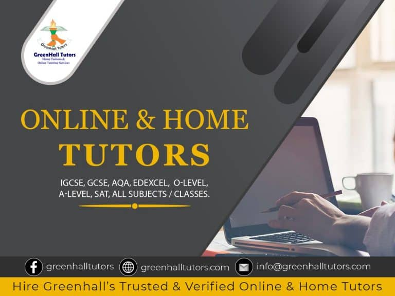 GreenHall Tutors Online & Home Tutoring