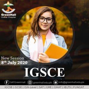 IGCSE, SAT I & II, GRE/GMAT New Online Sessions !!!
