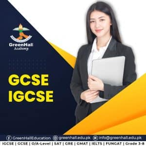 O-Levels | A-Levels | GCSE | IGCSE |SAT I & II | Grade 3-8. On Campus/Online Final/Winter Session 2021 has been started from 4th January 2021 at all Flagship Campuses of GreenHall
